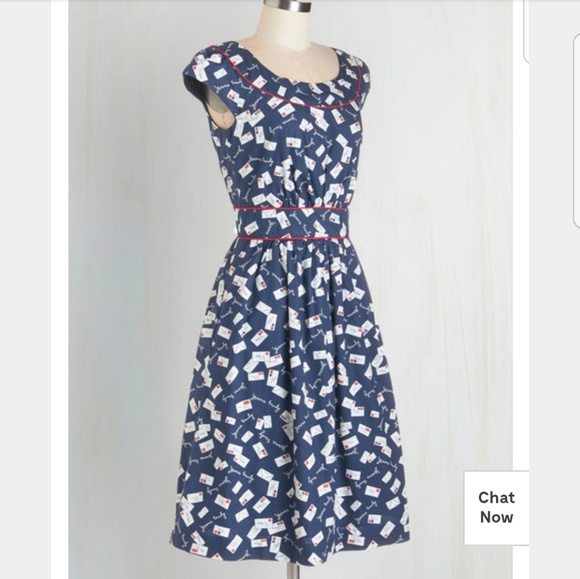 c521776661b5 Modcloth Dresses   Emily And Fin Day After Day Dress In Yours Truly ...